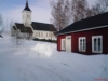 Föllinge kyrka och Bryggstugan