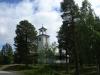 eget foto av den mycket låsta kyrkan