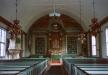 Interiör från Vilhelmina kyrka 1996