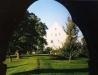 Porten mot prästgården. Foto:Bernt Fransson