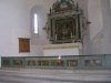 Vackra målningar på altarringen
