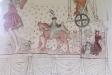 Rike männens gästabud och Lazarus med hundarna ´under bordet´.