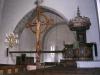 Predikstolen är från 1723