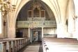 Predikstolen är gustaviansk och skänktes till kyrkan på 1780-talet.