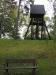 Klockstapeln från 1963 av lärkträd Oktober 2010