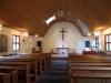Kyrkorummet är traditionellt utformat Oktober 2010