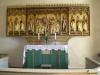 Det mycket vackra altarskåpet från omkr. 1500