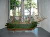 Votivskepp från forna tider då Kårsta låg vid segelbar led