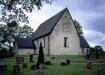 Angarns kyrka på 90-talet. Foto: Åke Johansson.