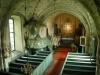 Dopfunt i sandsten från 1967 och sakramentsskåp från 1400-talet