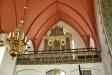 Den mindre orgeln  på norra läktaren
