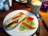 Långt ifrån billigaste baguetten och latten i Lund