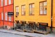 Sommartid har Cafe Uroxen uteservering