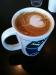 Lite latte art är aldrig fel