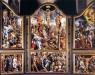 Maarten van Heemskercks altarskåp fr 1543 finns f.n. på sydväggen. (fr www.linkopingshistoria.se)