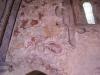 väggmålning från slutet av 1400-talet