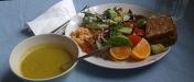 Vegetarisk lunchbuffé i världsklass!