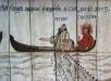 Målning i Barsta kapell