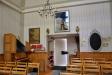 Bild av klockstapeln inne i kapellet