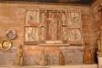 Den predikstol som följde med från Kinnarumma