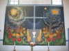 Sydd vacker altartavla.