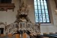 Den magnifika altaruppsatsen av bildhugagre mäster Börje Löfman