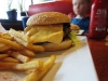 Buddy´s: Hamburgertallrik
