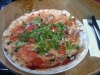 Pizzan ser större ut än den är. Men god var den. Dock inte värd 99 kr.
