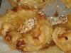 Äpplewienerbröd med nötter och socker