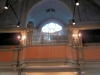 Orgelläktare i öster