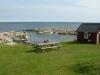 Den lilla hamnen vid Hallshuk