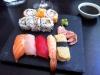 Minimalistisk men god sushi