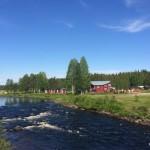 Bild från Fällfors Camping